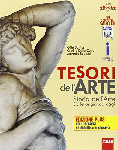 Tesori dell'arte. Ediz. plus. Con espansione online. Per la Scuola media. Con e-book, 4 volumi