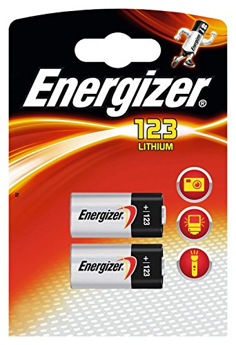 Energizer 123 FSB2 Fotobatterie (1 Packung 12 Batterien) 12 Cr123a Lithium Batterien