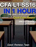 #10: CFA LEVEL 1 STUDY SESSION 16 IN ONE HOUR - QUICK EXAM REVISION (CFA LEVEL 1 EXAM PREP IN 18 HOURS)