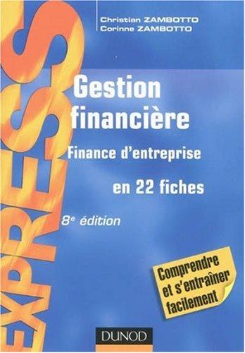 Gestion financière : Finance d'entreprise