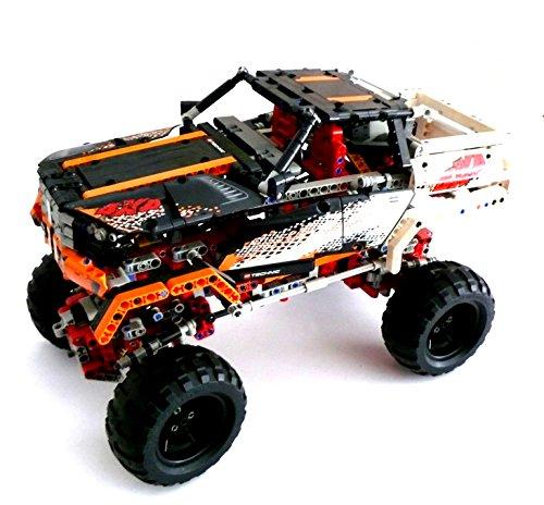Preisvergleich Produktbild LEGO ® TECHNIC - 9398 - 4X4 Offroader - mit Motor - ohne Bauanleitung