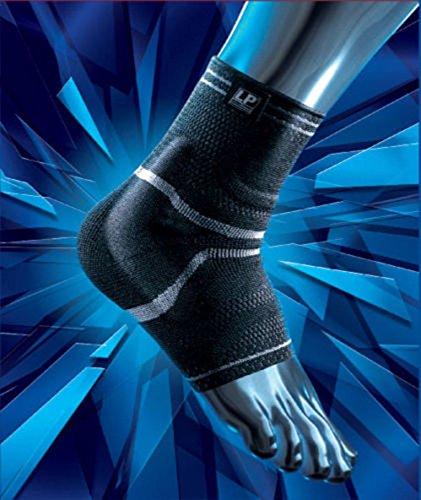 SDA xtremus Knöchelbandage mit Silikon Pad von LP–Sports Performance Socke/verhindern Verletzungen Gelenkband Stabilität/Verstauchung/Strain/schwach bei überlastungen Knöchel/lindert Schmerzen & Schwellungen/Schwellungen Wrap/Rhythmische Massage (Performance-knöchel-socken)