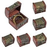top-sell Hot Retro Jewelry Pearl Armband Halskette Organizer Aufbewahrungsbox Schachtel aus Holz Geschenk