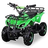 NEU Kinder Miniquad TORINO 49 CC MOTOR 2 Takt ATV Pocket Quad Kinderquad Kinderfahrzeug grün