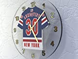 NHL National Hockey League–Eastern Konferenz–Metropolitan Division Trikot Wanduhren–Jeder Name, beliebige, jedes Team, kostenlose Personalisierung., Herren, NEW YORK RANGERS