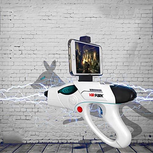 SHARESUN Pistolet de Jeu Bluetooth, Pistolet modèle de...
