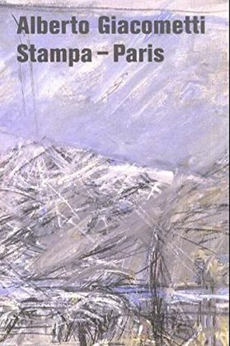 Alberto Giacometti: Stampa - Paris