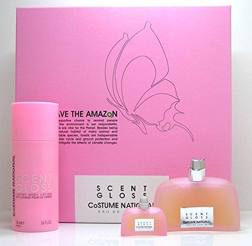 Costume National Scent Gloss Eau de parfum Set (save the Amazon) ()