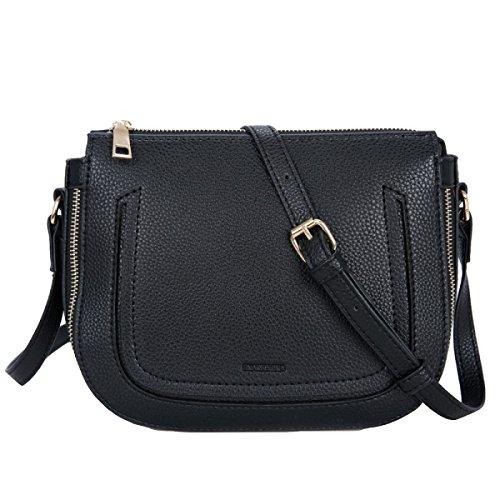 Yy.f Neue Absatzbeutel Schulter Kurierbeutel Handtaschen Dameentwerfer-Schulterbeutel Handtasche Damemappe Farbe 2 Black