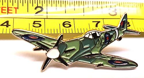 metal-enamel-pin-badge-ww2-raf-spitfire-aeroplane