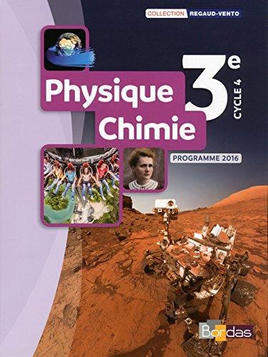 Physique-Chimie 3e : Programme 2016