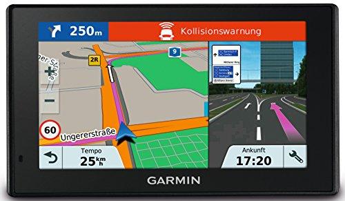 Preisvergleich Produktbild Garmin DriveAssist 51 LMT-D EU Navigationsgerät - lebenslang Kartenupdates & Verkehrsinfos, kameragestützte Fahrerhinweise, Smart Notifications, 5 Zoll (12,7cm) Multiouch Glasdisplay