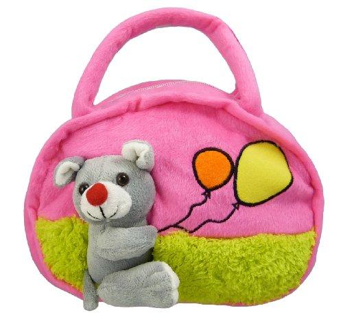 Kindertasche - Maus - für Jungen und Mädchen (Pink)