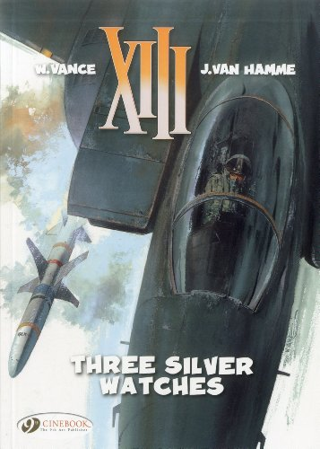 XIII - tome 11 Three silver watches (11)