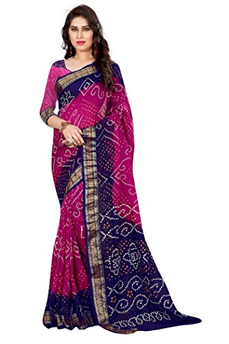 Saree (Traditional Jacquard Silk Bandhani By Widespread Collection)