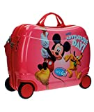 Disney ABS Maleta Rigida Cabina Ruedas Trolley Correpasilla (02 Mickey Mouse 26899)