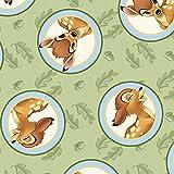 Bambi Stoff–0,5Meterware–von Springs