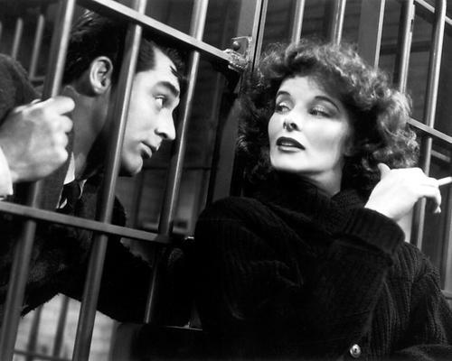 Moviestore Katharine Hepburn als Susan unt Cary Grant als David in Bringing Up Baby 25x20cm Schwarzweiß-Foto -