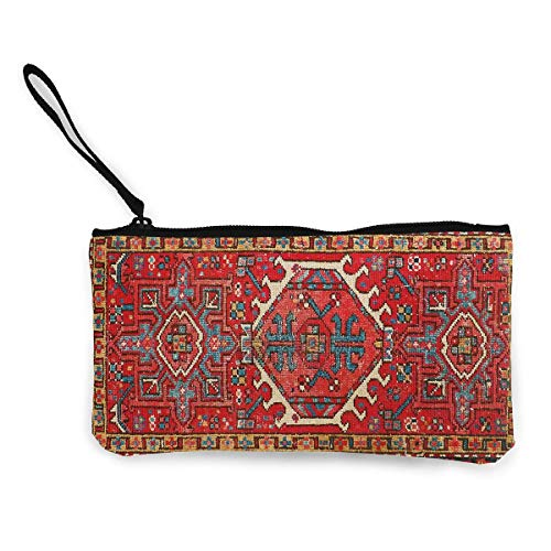 Unisex-Geldbörse, Cute Canvas Clutch Dubai Persian Style Geldbörses Wallet Money Cash Bag Make Up Bag Phone Pouch Zipper Pouch