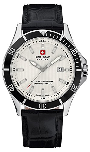 Swiss Military Hanowa Herren-Armbanduhr Analog Quarz 06-4161.7.04.001.07
