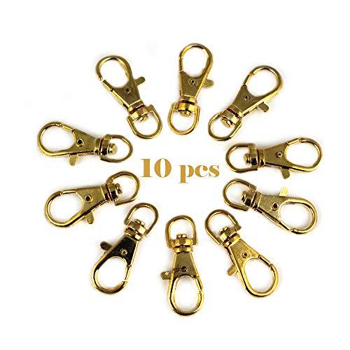 RUBY-10 Mosquetón para bolso Mosquetón de llavero ganchos de bolso A