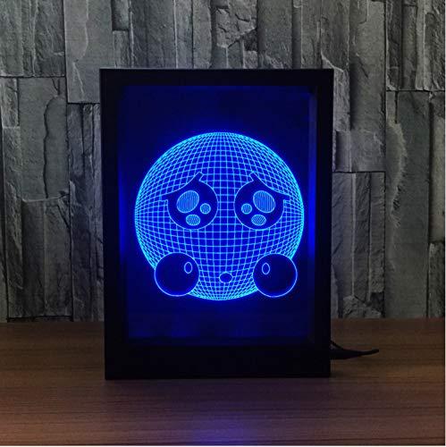 Nachtlampe Foto Frame 3d Phantom Lampe Mit Leuchtendem Fotorahmen Kreativ Gift Vision fernsteuerung