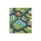 CAOQAO Tapis De Jeu - Trafic - Tapis Circuit,pour Enfants Circuit De Voitures dans La...