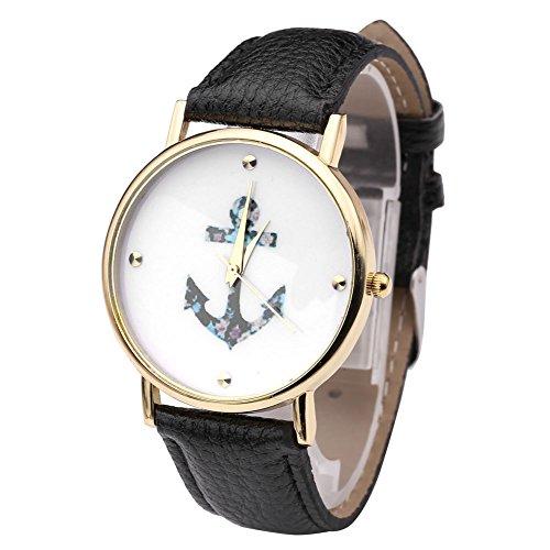 jsdde-montre-femme-anchor-fleur-vintage-cuir-pu-quartz-noir