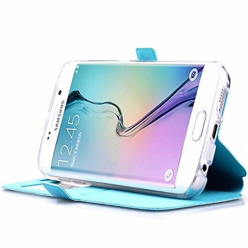 Mantianxing Samdung, rose gold, Samsung Galaxy S6 bleu