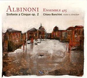 """Afficher """"Sinfonie a cinque, op. 2"""""""