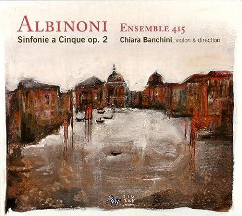 Sinfonia Pop - Albinoni : Sinfonias a Cinque Op.