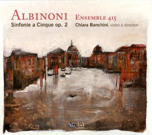 Albinoni : Sinfonias a Cinque Op. 2