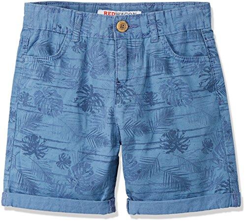 RED WAGON Pantalón Corto Estampado Estilo Bermuda para Niños, Azul Blue, 5 años
