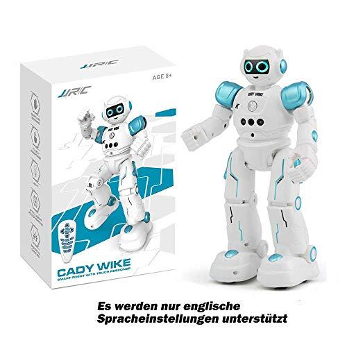 Siebwin Roboter Kinder Spielzeug, JJRC R11 Intelligente Roboter Spielzeug RC Control Geste Sensor Action Display Singen Tanzen USB Lade Kinder Geburtstagsgeschenk