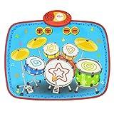: Kinder Schlagzeug Musik Decke Spielzeug Kindergarten Geschenk Früherziehung