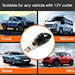 HOTOR Corded Car Vacuum Cleaner with LED Light, DC12-Volt Wet/Dry Portable Handheld Auto Vacuum Cleaner for Car,16.4… 10