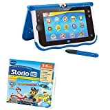 Vtech Storio - Lot d'une Tablette Storio 7 Max Bleue et d'un Jeu HD Pat' Patrouille