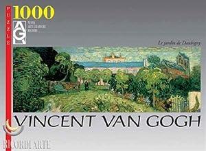 Editions Ricordi 0802N14740-Black Van Gogh Jardin Puzzle de 1000Piezas