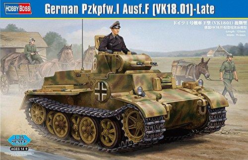 Hobby Boss 83805 Modellbausatz German Pzkpfw.I Ausf.F (VK1801)-Late