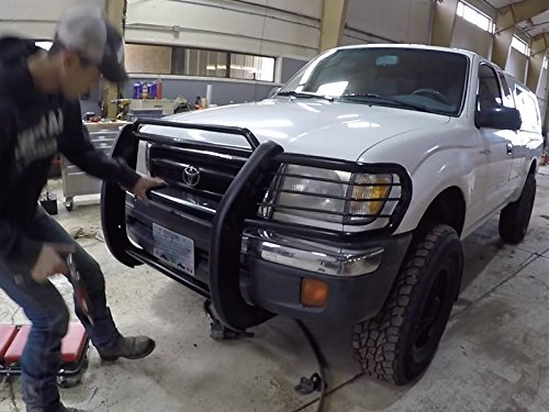 Toyota Tacoma Grille Guard Install with Axe Family