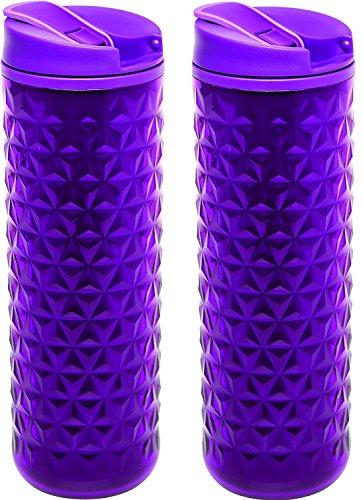 Aladdin Topo isotherme Plastique Mug Berry (2 Pack)