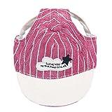 LDFN Haustier Bunt Baseballmütze Sport Hundehut Multi-Format Multi-Color Ein Satz 1,Red-S