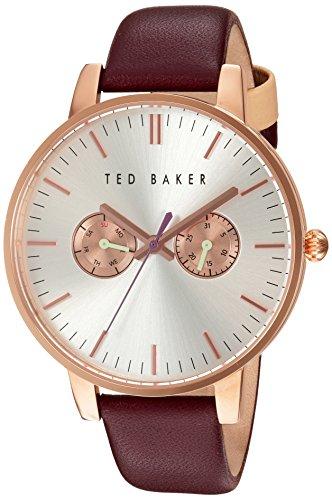 Ted Baker 10030748 - Reloj de Pulsera Mujer, Color Rojo