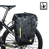 Fahrrad Satteltasche Wasserdichte Rahmentasche Fahrradtasche Oberrohrtasche für Mountainbike Rennra Leiyini (A)