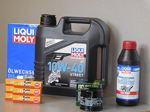 Kit d'entretien pour Honda Goldwing 1800 Huile Filtre à huile Bougie d'allumage Service d'inspection