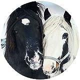 Tortenaufleger Tortenfoto Aufleger Foto Pferd rund ca. 20 cm (9) *NEU*OVP*