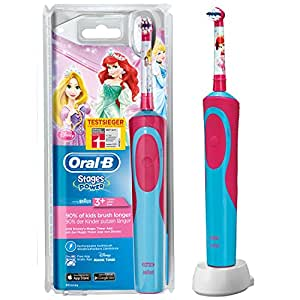 oral b stages power akku prinzessin elektrische kinderzahnb rste mit timer drogerie. Black Bedroom Furniture Sets. Home Design Ideas