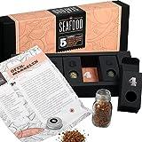 Gewürzset Seafood - Die perfekte Geschenkidee für Geniesser -das ideale Geschenk für alle Fischliebhaber - Kräuter - und Gewürzmischungen mit Rezepten zum Nachkochen - Geschenkset - Weihnachtsgeschenk