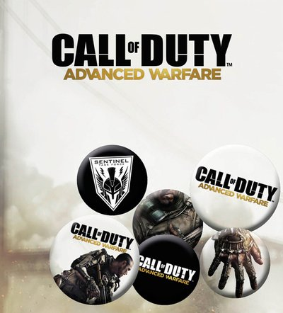 Preisvergleich Produktbild GB Eye Call of Duty Advanced Warfare Mix Badge Pack,  mehrfarbig
