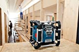 Bosch Professional GML 50 Akku-Baustellenradio (mit Ladefunktion, 50 Watt Nennleistung, USB, SD, 2x Aux-In, Aux-Out, 12 V Steckdose) 0601429600 - 4